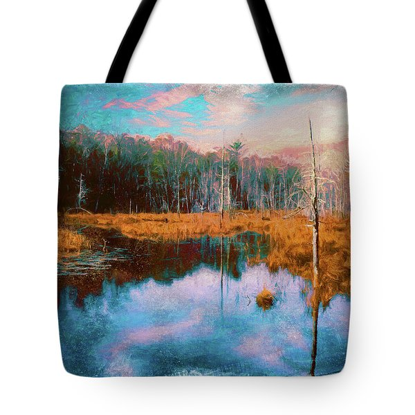 A Wilderness Marsh Tote Bag