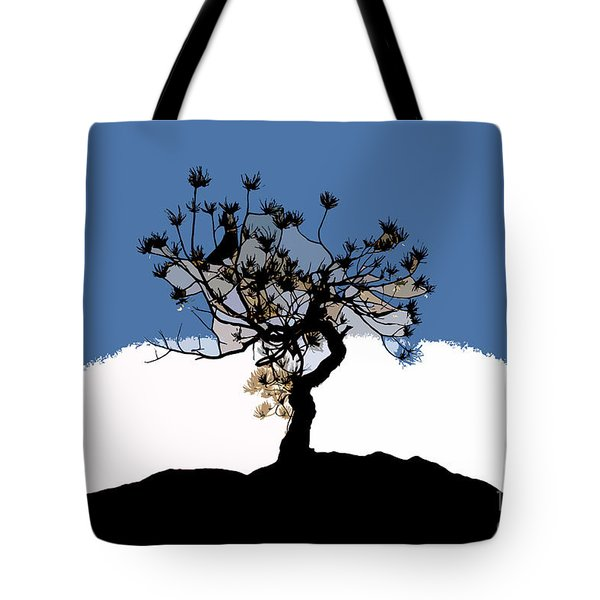 A Will To Live Tote Bag by David Lee Thompson