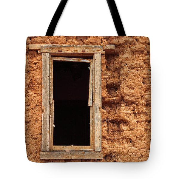 A Window Into The Past Tote Bag