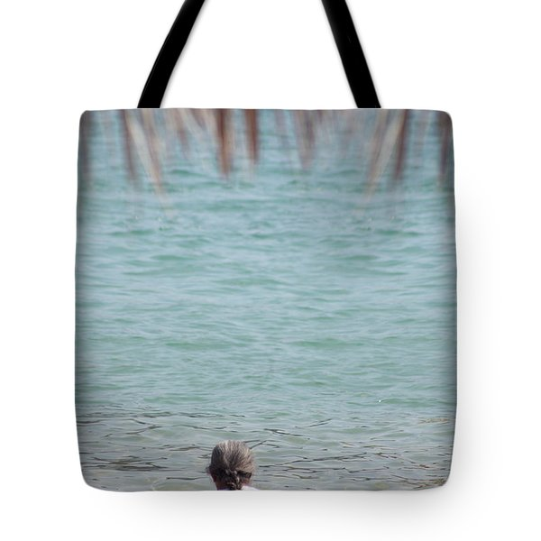 Tote Bag featuring the photograph A Window With A View by Ana Mireles