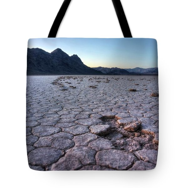 Tote Bag featuring the photograph A Windy Place In The Desert by Peter Thoeny