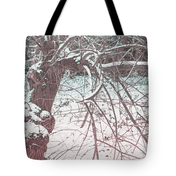 A Winter Tree Tote Bag