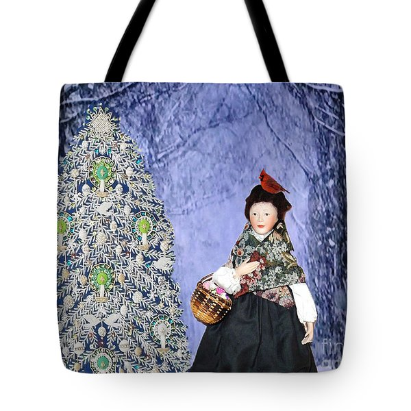 A Winter Walk Tote Bag