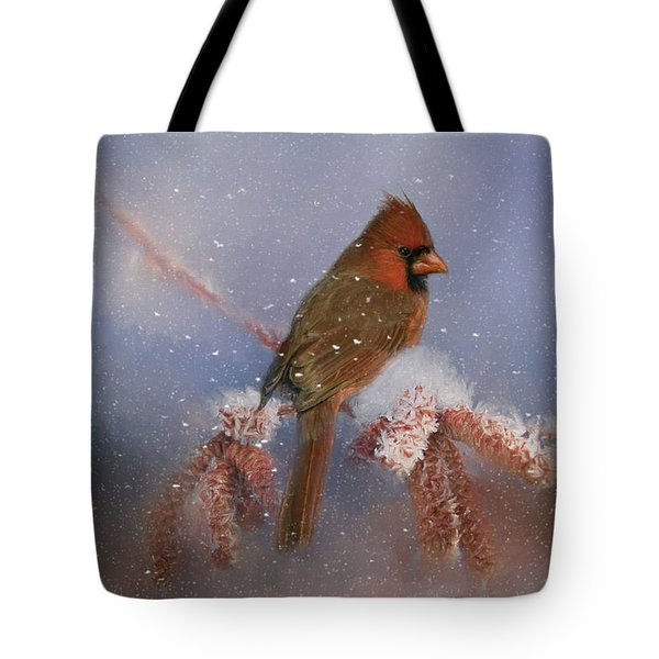 Tote Bag featuring the photograph A Winters Day by Lana Trussell
