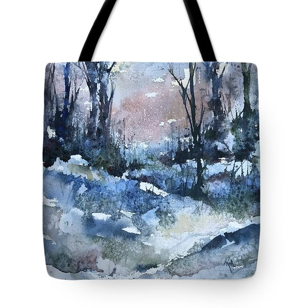 A Winter's Eve Tote Bag