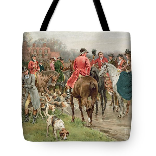 A Winter's Morning Tote Bag