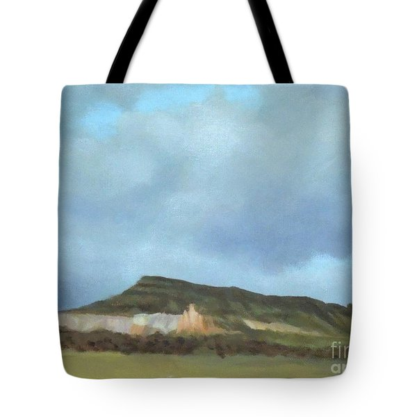 A Wintry Day In Abiquiu Tote Bag