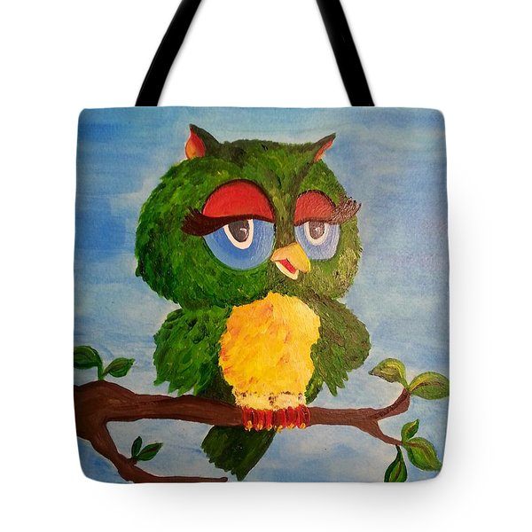 A Wise Bird Tote Bag