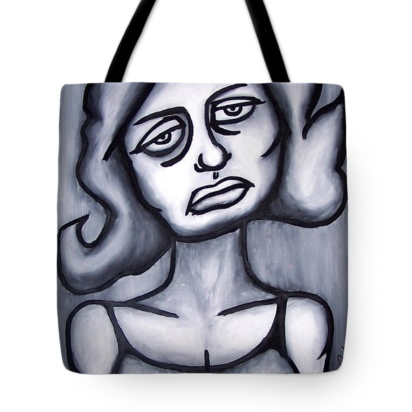 A Woman Tote Bag