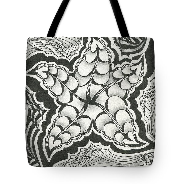 A Woman's Heart Tote Bag by Jan Steinle