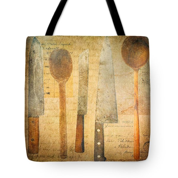 A Woman's Tools Tote Bag