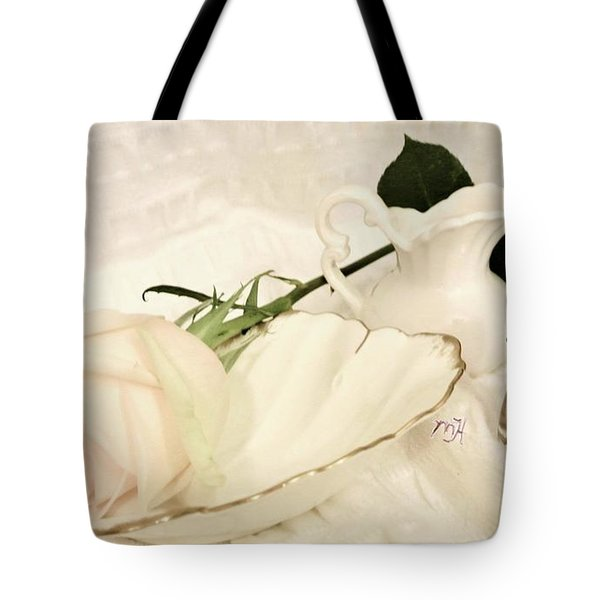 Tote Bag featuring the photograph A Womans Touch by Marsha Heiken