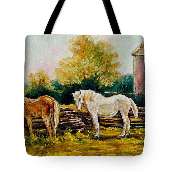 A Wonderful Life Tote Bag by Carole Spandau