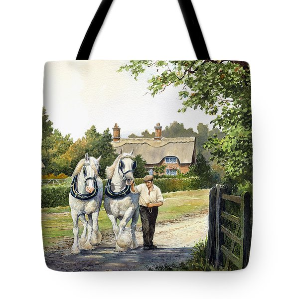 A Working Day Tote Bag