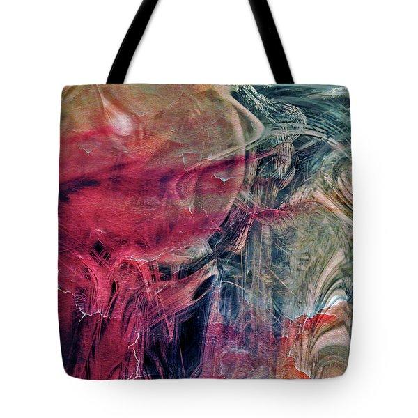 Tote Bag featuring the digital art A World Beyond by Linda Sannuti