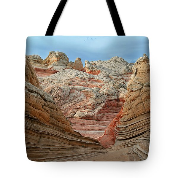 A World In Turmoil Tote Bag