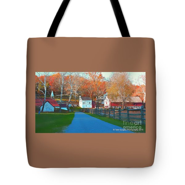 A World With Octobers Tote Bag