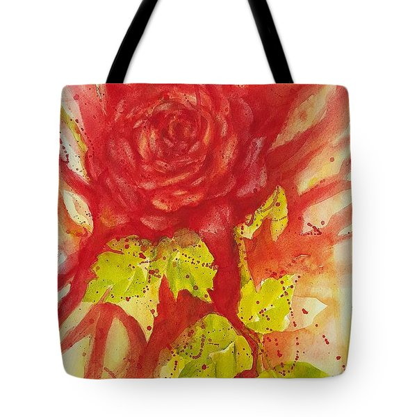 A Wounded Rose Tote Bag