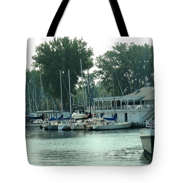 A Yacht Club Tote Bag