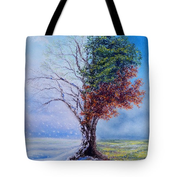 A Year In The Tree Of Life Tote Bag