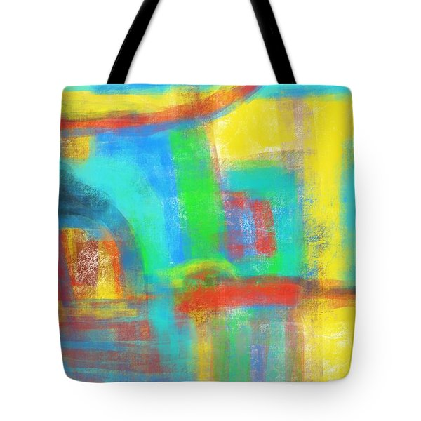 Tote Bag featuring the painting A Yellow Day by Susan Stone