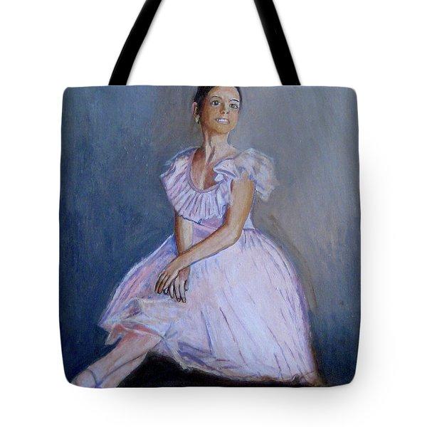 A Young Ballerina Tote Bag