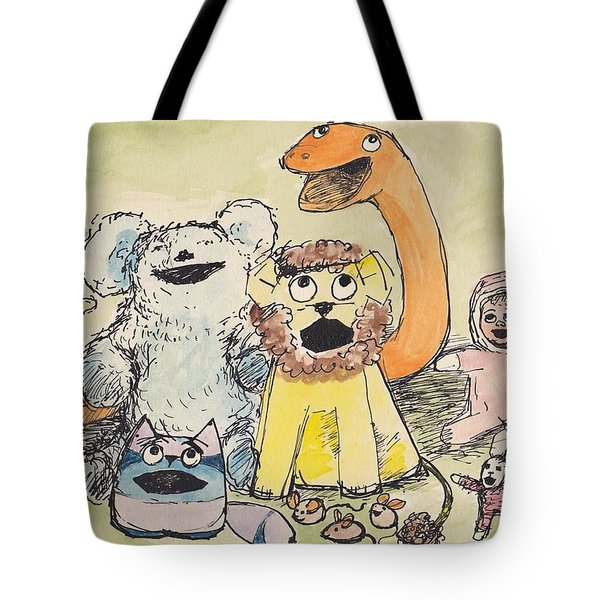 A1  Andreas Toys Tote Bag by Charles Cater
