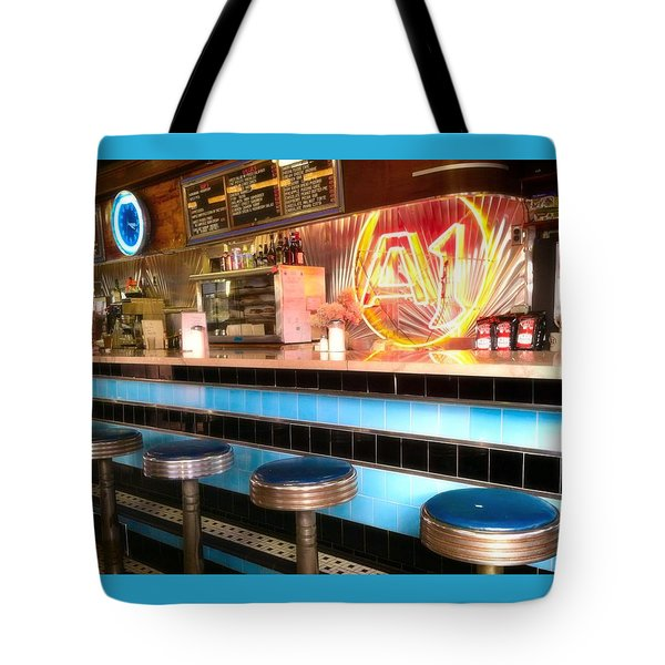 A1 Diner In Gardiner, Maine Tote Bag