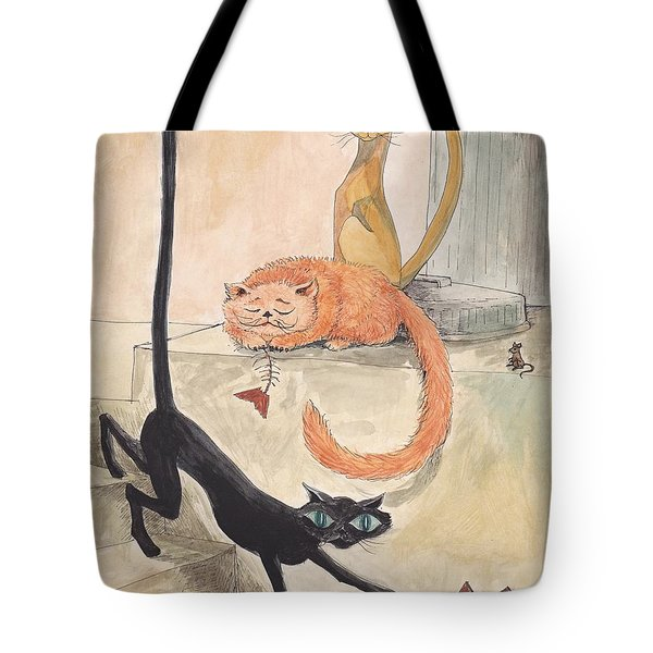 Lucky 13 Tote Bag by Charles Cater