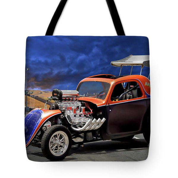 Aa Fuel Altered 'extreme Pucker' Tote Bag