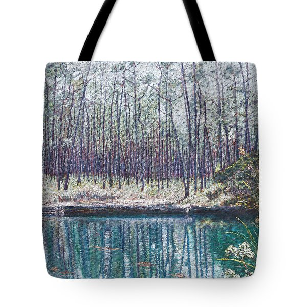 Abaco Blue Hole Tote Bag