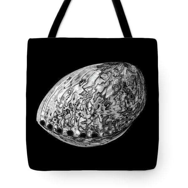 Abalone Sea Shell Tote Bag by Jim Hughes