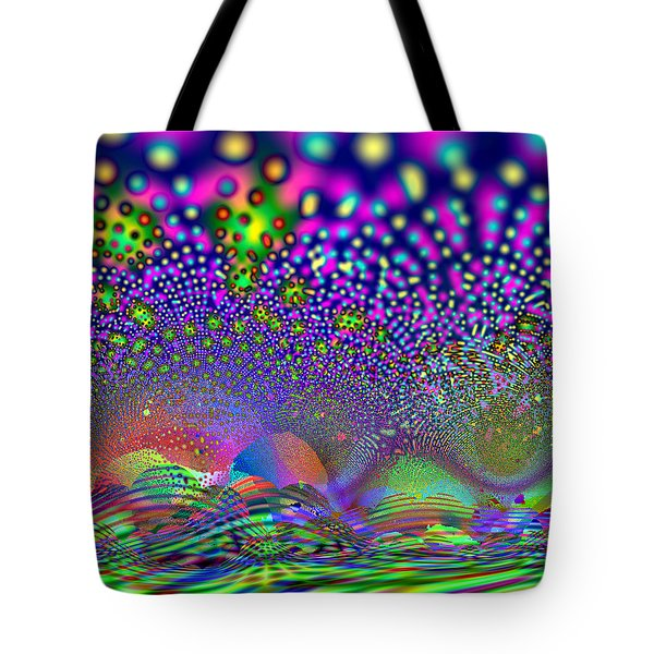 Tote Bag featuring the digital art Abanalyzed by Andrew Kotlinski