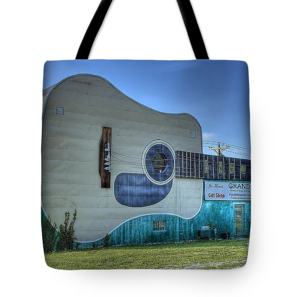 Abandon Country Music Museum Tote Bag
