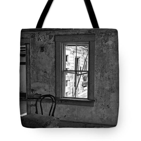 Abandon House Living Room Tote Bag
