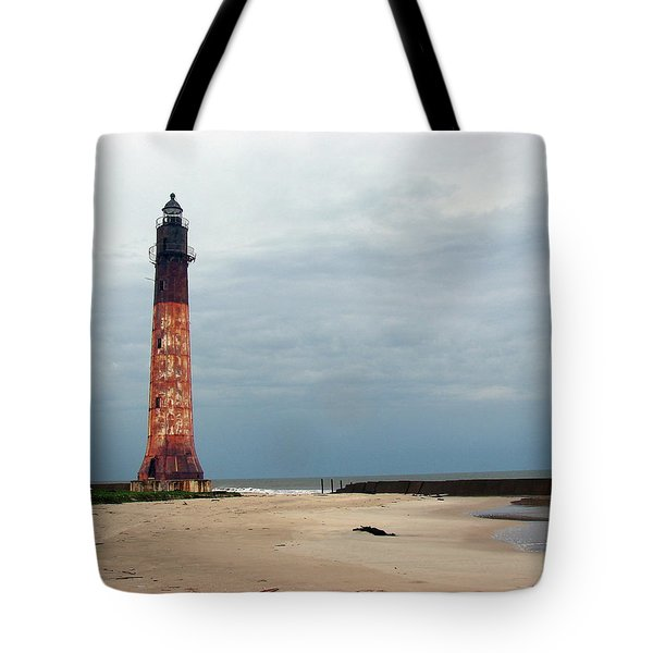 Abandon Lighthouse Tote Bag