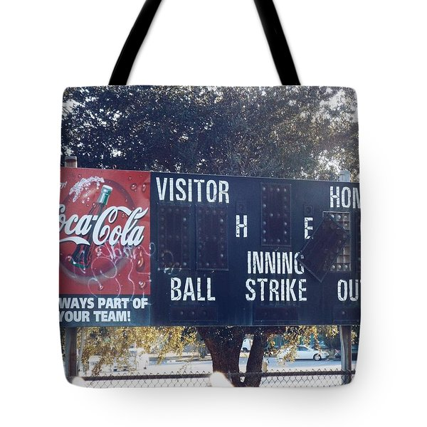 Abandoned Score Board Tote Bag