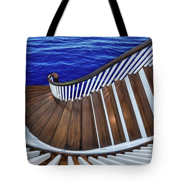 Abandon Ship Tote Bag by Paul Wear