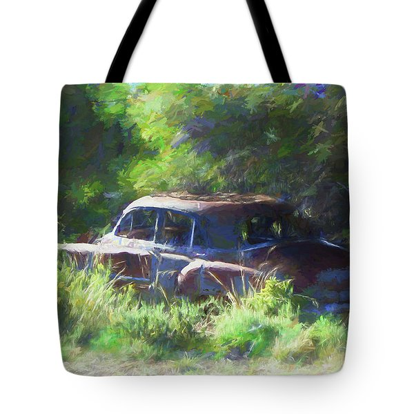 Abandoned 1950 Chevy Dop Tote Bag