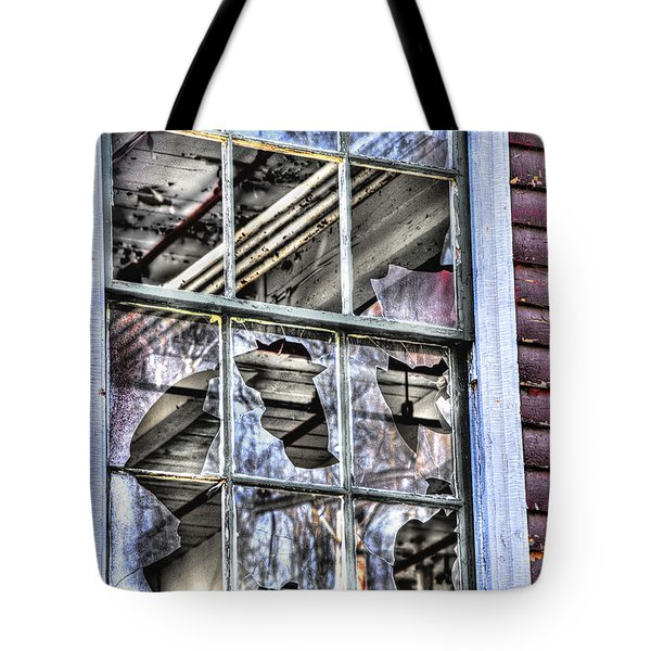 Tote Bag featuring the photograph Abandoned by Alana Ranney