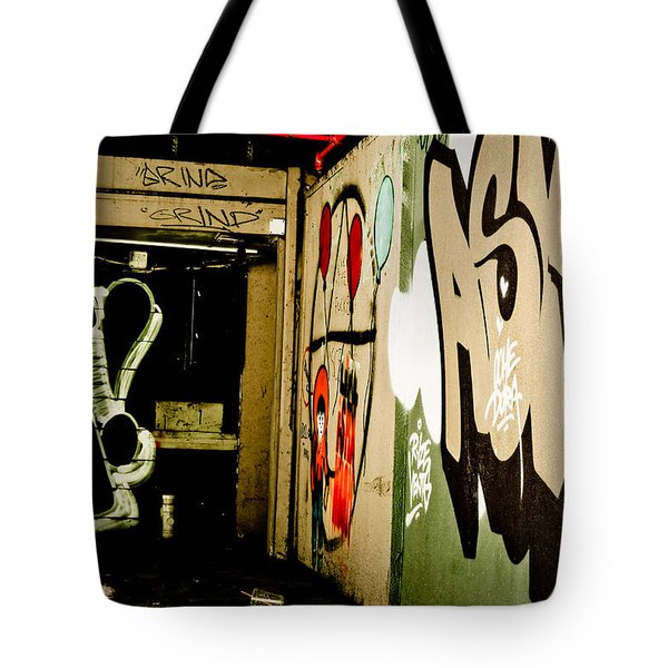 Abandoned And Grunge Tote Bag