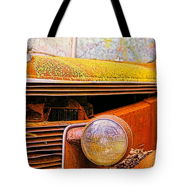 Abandoned Antique Truck 2 Tote Bag