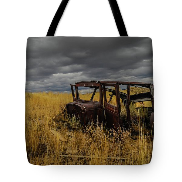 Abandoned Auto Tote Bag