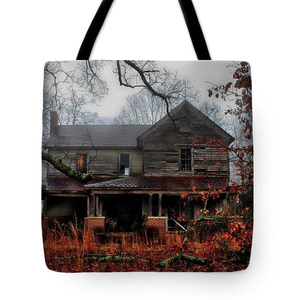 Abandoned Autumn Tote Bag