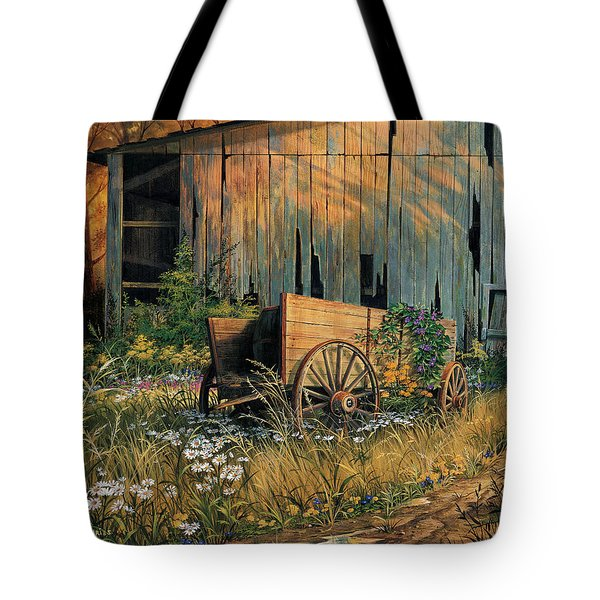 Abandoned Beauty Tote Bag by Michael Humphries
