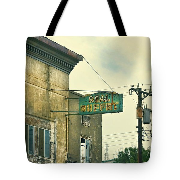 Tote Bag featuring the photograph Abandoned Building by Jill Battaglia