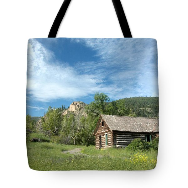 Abandoned Cabin Tote Bag