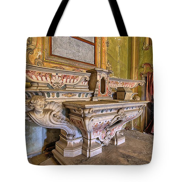 Abandoned Chapel Of An Important Liguria Family IIi - Cappella Abbandonata Di Famiglia Ligure 3 Tote Bag