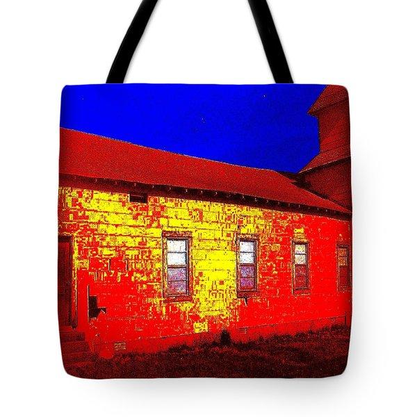 Abandoned Church Tote Bag