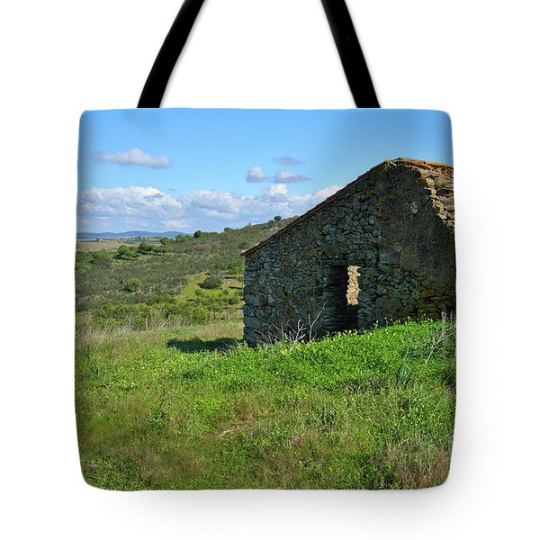 Abandoned Cottage In Alentejo Tote Bag by Angelo DeVal